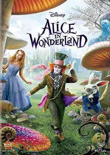 ALICE IN WONDERLAND BY DEPP,JOHNNY (DVD)